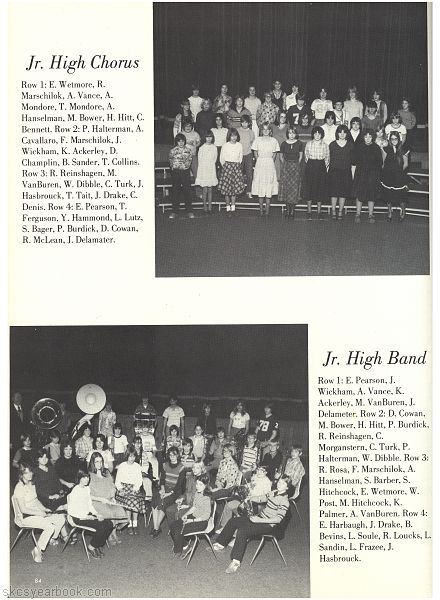SKCS Yearbook 1980•84 South Kortright Central School Almedian