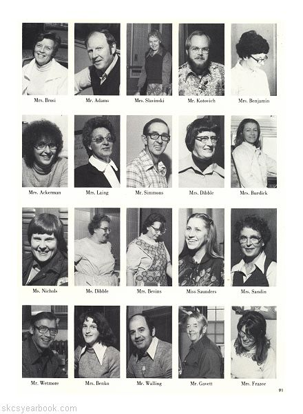 SKCS Yearbook 1980•91 South Kortright Central School Almedian